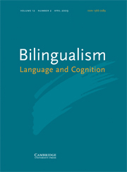bilingualism2007